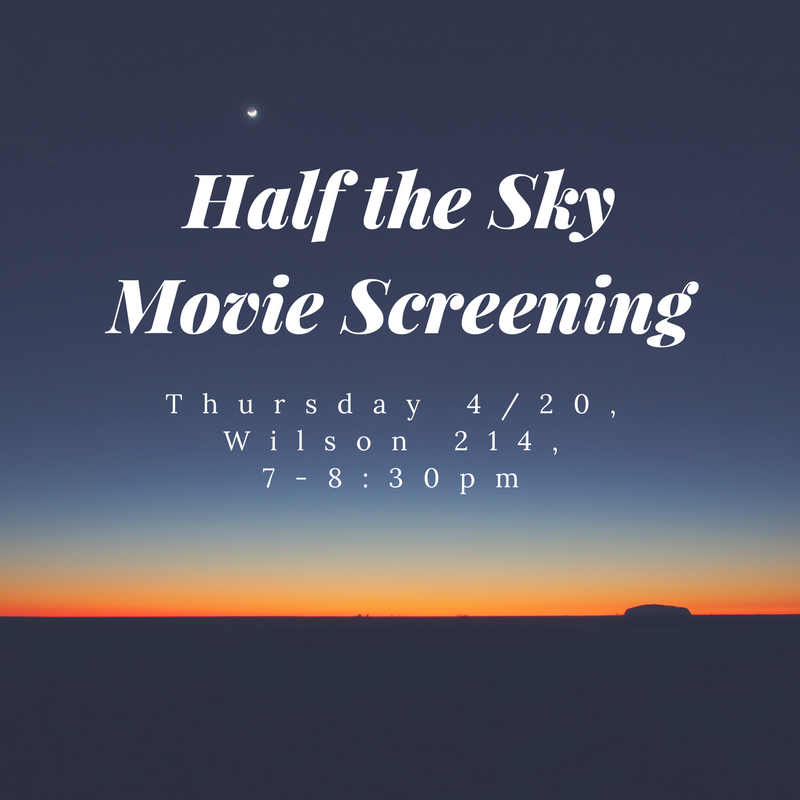Half the Sky Movie Screening